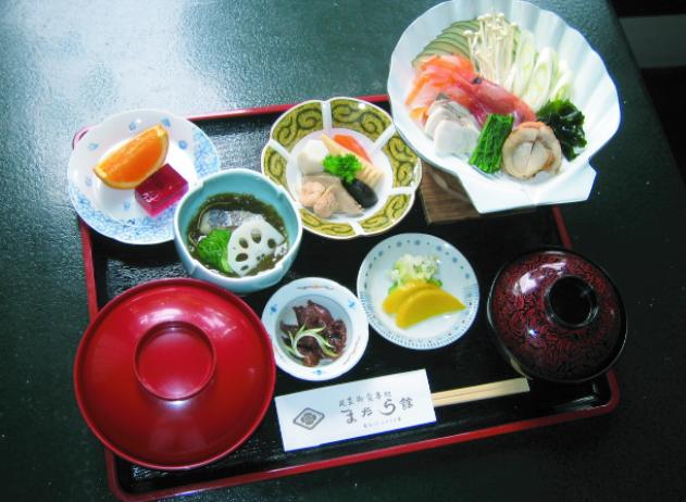 いしる貝鍋定食 1,700円