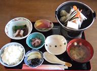 いしる鍋定食 1,000円